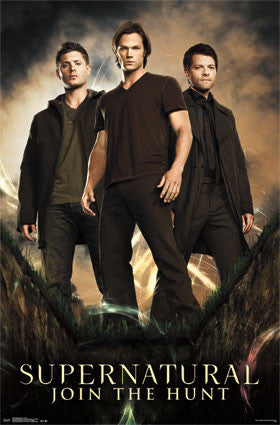 Supernatural - Group TV Show Poster 22x34 RP13509 UPC882663035090