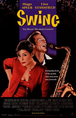 Swing 1999 Movie Poster 27x40 Used Hugo Speer, Lisa Stansfield, Paul Usher