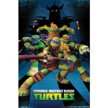 TMNT - Assemble Movie Poster 22x34 RP2266 UPC017681022665 Teenage Mutant Ninja Turtles