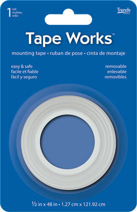 "Tape Works - Mounting Tape MT48 Size:4"" x 6"" x .75"" UPC:017681757994 New"