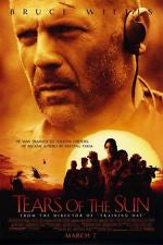 Tears of the Sun Movie Poster 27x40 Used Chad Smith, Howard Mungo, Pierrino Mascarino, Sammi Rotibi, Justin Rodgers Hall, Tom Skerritt, Bruce Willis, Peter Mensah, Allison Dean, Cornelia Hayes O'Herlihy, Mark Bedell
