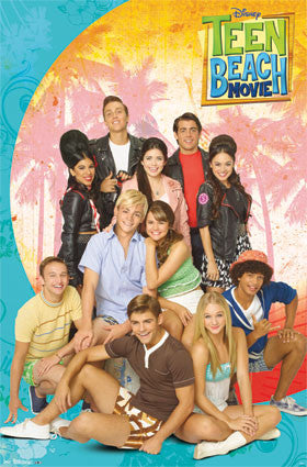 Teen Beach Movie – Group Poster 22x34 RP6009 UPC017681060094 Disney