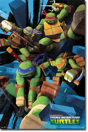 Teenage Mutant Ninja Turtles – Attack Poster 22x34 RP5458 UPC017681054581 TMNT