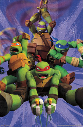 Teenage Mutant Ninja Turtles – Team Poster 22x34 RP6387 UPC017681063873 TMNT