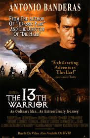 The 13th Warrior Movie Poster 27x40 Used Thirteenth MCP0014 Maria Bonnevie, Omar Sharif, Sven Wollter, Turid Balke, Antonio Banderas, Suzanne Bertish, Andrew Kavadas, Vladimir Kulich, Anders T Andersen, Richard Bremmer