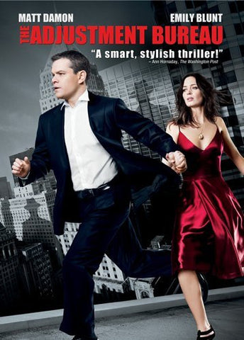 The Adjustment Bureau 2011 Movie Poster 27X40 Used Matt Damon, Emily Blunt, Lisa Thoreson