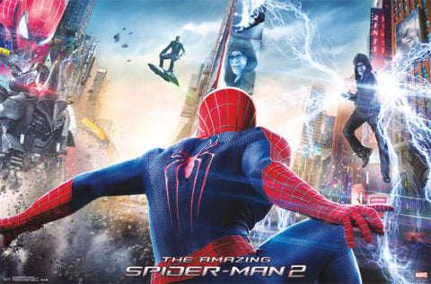 The Amazing Spider-man 2 - One Sheet Movie Poster RP2495 22x34 UPC017681024959