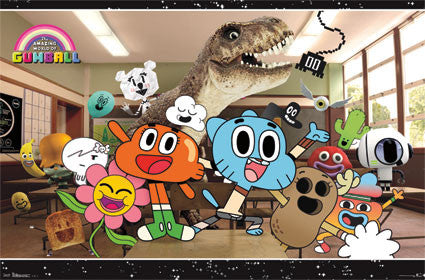 The Amazing World of Gumball – Class RP2364 (TOWOG) 22x34 Used Poster UPC017681023648