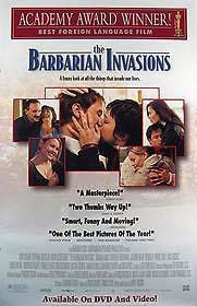 The Barbarian Invasions Movie Poster 27x40  Used