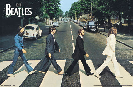 The Beatles - Abbey Road Music Poster 22x34 RP13000 UPC882663030002