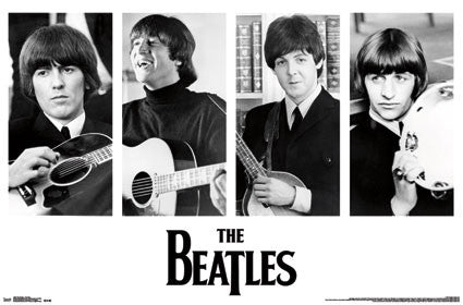 The Beatles – Portraits Poster 22x34 RP13002  UPC882663030026