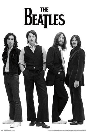 The Beatles – White Poster RP13003 22x34 UPC882663030033