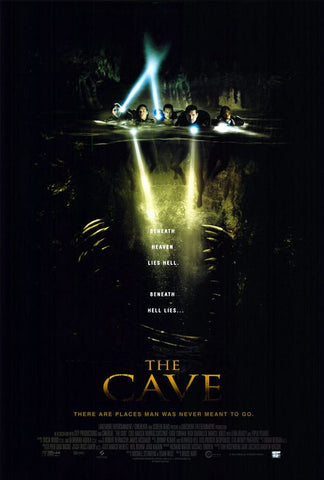 The Cave 2005 Movie Poster 27x40 Used Piper Perabo, Morris Chestnut, Cole Hauser