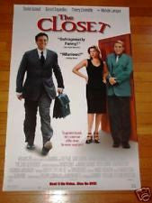 The Closet Movie Poster 27x40  Used