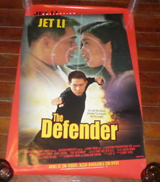 The Defender 1994 Movie Poster 27x40 Used Jet Li