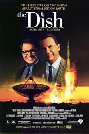 The Dish Movie Poster 27x40 Used  Grant Thompson, Hubert H Humphrey, Billy Mitchell, Neil Pigot, Roz Hammond, Roy Billing, John F Kennedy, Michael Collins, Richard Nixon, Frank Bennett, John McMartin, Susan Ward, Kevin Harrington