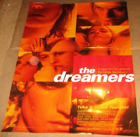 The Dreamers 2003 Movie Poster 27x40 Used