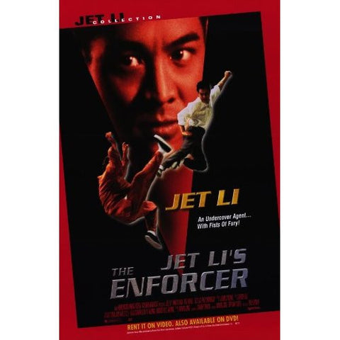 The Enforcer Movie Poster 27x40 (1995) Used Jet Li