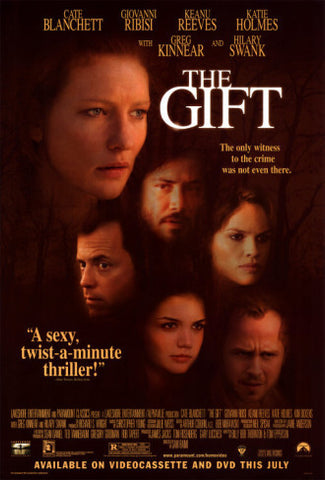 The Gift 2000 Movie Poster 27x40 Used Cate Blanchett, Hilary Swank ...