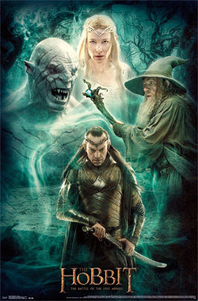 The Hobbit - Collage Movie Poster RP13584 UPC882663035847