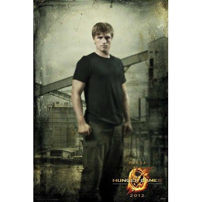 The Hunger Games – Peeta Movie Poster 22x34 RP0463 UPC017681004630
