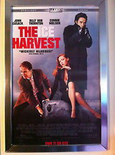 The Ice Harvest Movie Poster 27x40 Used David Pasquesi, Connie Nielsen, Randy Quaid, Steve King, Mike Starr, Tab Baker, John Cusack, Lara Phillips, Brad Smith, Oliver Platt, Joseph Luis Caballero, Billy Bob Thornton, Jenny Wade, Laura Whyte