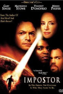 The Imposter Movie Poster 27x40 Used