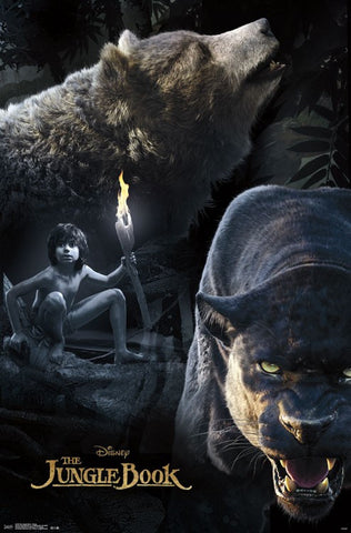 The Jungle Book - Group Movie Poster RP14258 23x34 UPC882663042586 Disney