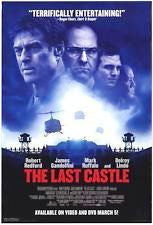 The Last Castle Movie Poster 27x40 Used Kristen Shaw, Steve Burton, Michael Davis, Robin Wright, Brian Goodman, Dean Miller, Robert Redford, David Powledge, James Gandolfini, Michael Irby, Sam Ball