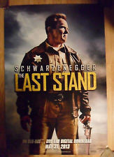 The Last Stand Double Sided Movie Poster 27x40 Used MCP0016 Arnold Schwarzenegger, Cliff Fleming, Chris Browning, Zach Gilford, Rio Alexander, Mathew Greer, Eduardo Noriega, Forest Whitaker, John Patrick Amedori, Jaimie Alexander