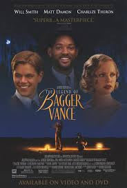 The Legend of Bagger Vance Movie Poster 27x40 Used Ray Wineteer, Harve Presnell, Michael O'Neill, Will Smith, Bruce McGill, Bernard Hocke, George Green, Elliott Street, Charlize Theron, Joel Gretsch, Carrie Preston, Charles Ward