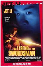 The Legend of the Swordsman Movie Poster 27x40 Used Jet Li