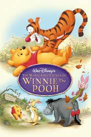 The Many Adventures of Winnie the Pooh Movie Poster 27x40 Used Walt Disney
