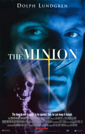 The Minion 1999 Movie Poster 27x40 Used Dolph Lundgren