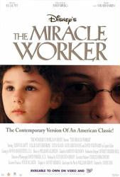 The Miracle Worker Movie Poster 27x40 Used Disney, Alison Elliott, Lucas Black, Stewart Arnott, Kevin Duhaney, Eugene Lipinski, Stephanie Sams, David Strathairn, Patricia Gage, Hallie Kate Eisenberg, Damir Andrei