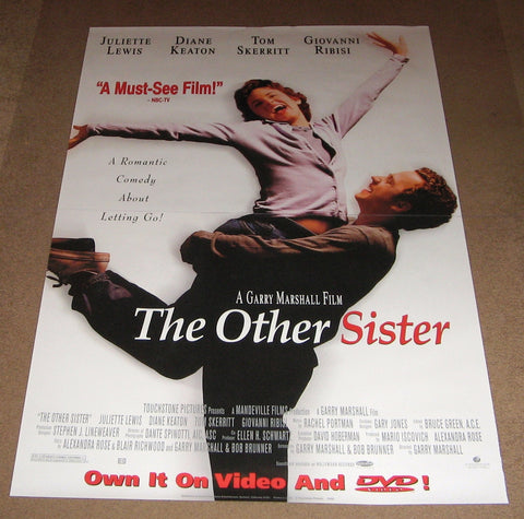 The Other Sister Movie Poster 27x40 Used Cassie Rowell, Juliet Mills, Hector Elizondo, Tom Hines, Dina Merrill, Zaid Farid, Colin MacDonald, David Ketchum, Natalie Ramsey, Joe Ross, Shannon Wilcox, Steve Restivo