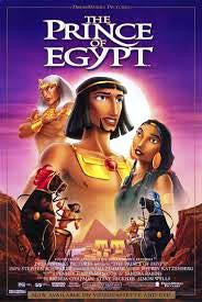 The Prince of Egypt Movie Poster 27x40 Used Francesca Smith, Aria Noelle Curzon, Brian Tochi, Amick Byram, Steve Martin, Stephanie Sawyer, Jeff Goldblum, Michelle Pfeiffer, Eden Riegel, Ofra Haza, Danny Glover