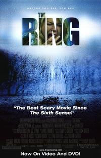 The Ring 2002 Movie Poster 27x40 Used Naomi Watts