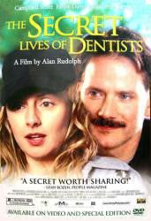 The Secret Lives of Dentists Movie Poster 27x40 Used Kevin Carroll, Campbell Scott, Hope Davis, Robin Tunney, Denis Leary, Susie Essman, Flora Martínez
