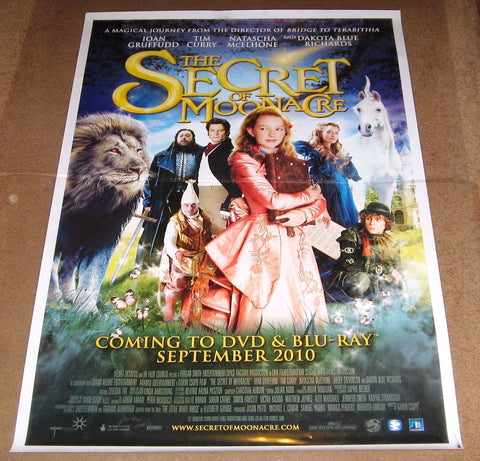 The Secret Of Moonacre 2008 Movie Poster 27x40 Used Tim Curry