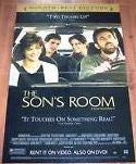 The Son's Room Movie Poster 27x40 Used