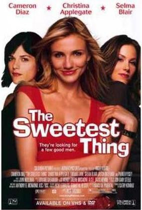 The Sweetest Thing 2002 Movie Poster 27x40 Used Cameron Diaz, Selma Blair, Christina Applegate