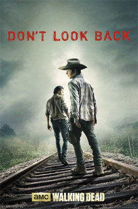 The Walking Dead – Don't Look Back TV Show Poster 24x36 RP10047 UPC882663000470 Rare