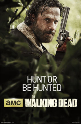 The Walking Dead - Hunt TV Show Poster 22x34 RP13852 UPC882663038527