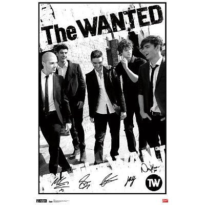 The Wanted Poster 22x34 RP4170  UPC017681041703 Music