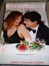 The Wedding Date Movie Poster 27x40 Used Amy Adams, Jack Davenport, Jeremy Sheffield, Michael McCarthy, Sarah Parish, Dave Brown, Jay Simon, Peter Egan, Steve Hall, George Asprey, Helen Lindsay, Dermot Mulroney, Debra Messing, Kerry Shale, Holland Taylor