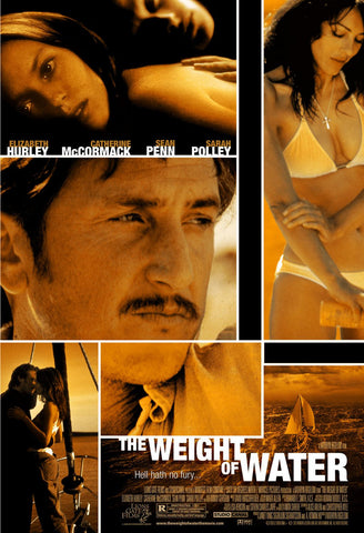 The Weight of Water Movie Poster 27x40 Used Anders W Berthelsen, Josh Lucas, Ciarán Hinds, Vinessa Shaw, John Maclaren, RD Call, Elizabeth Hurley, Joseph Rutten, Catherine Kellner, Richard Donat, Katrin Cartlidge, Sean Penn