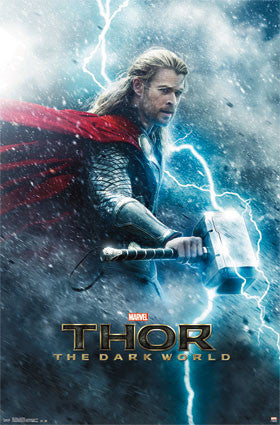 Thor 2 – One Sheet Movie Poster 22x34 RP5973 UPC017681059739