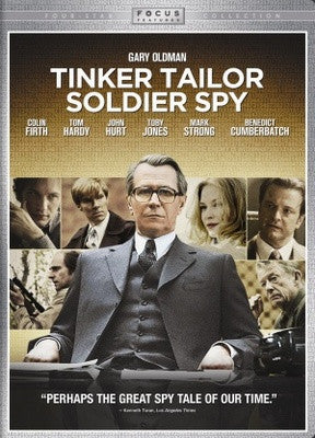 Tinker Tailor Soldier Spy Movie Poster 27X40 Used Matyelok Gibbs, Benedict Cumberbatch, Jean-Claude Jay, John Hurt, Philip Martin Brown, Rupert Procter, Konstantin Khabenskiy, Roger Lloyd-Pack, Colin Firth, Kathy Burke