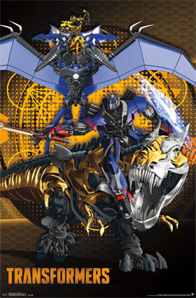 Transformers 4 - Dinobots Movie Poster 22x34 RP13210
